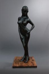 "Camille 5' x 25"" x 25"" Bronze Composite"