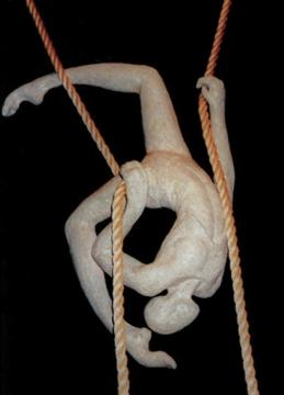 Guros Sizes Vary Papier Maché, Rope